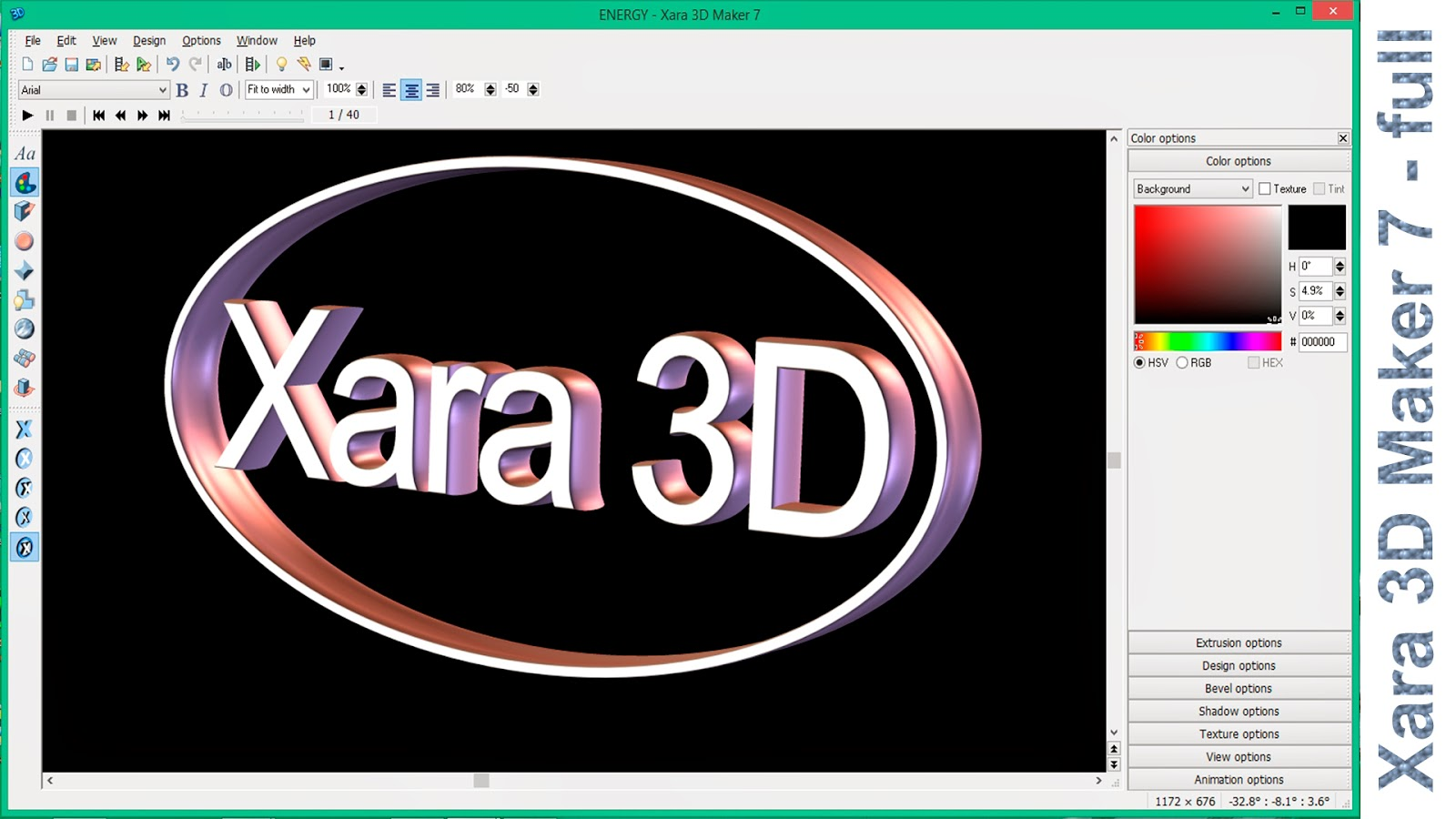 Xara-3D-Maker-7-design-logo